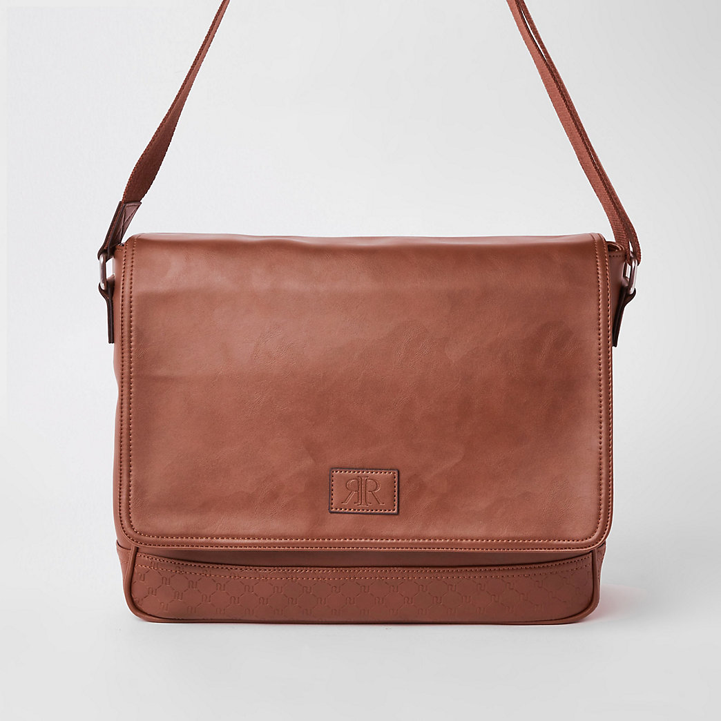 flapover satchel bag