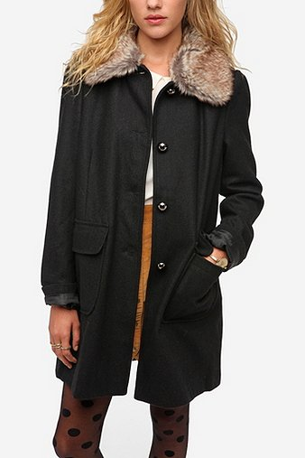 Pins and Needles Faux Fur C...