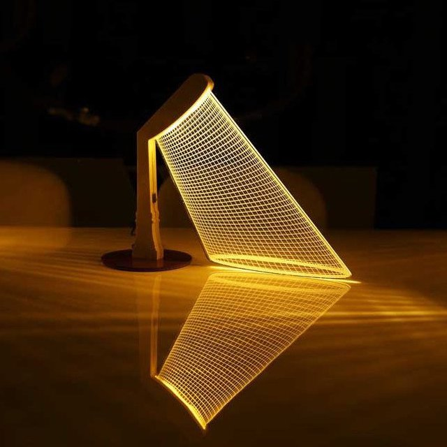 3D Street Table Lamp
