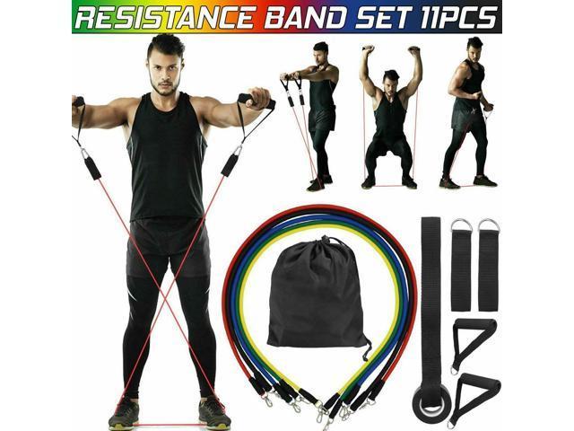 11 PCS Resistance Band Set ...
