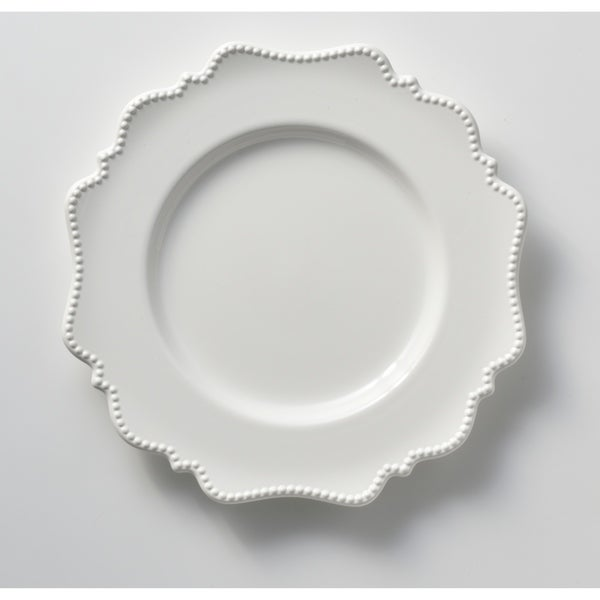 """Pinpoint White Dinner Plate 11"""" (Set of 6)"""
