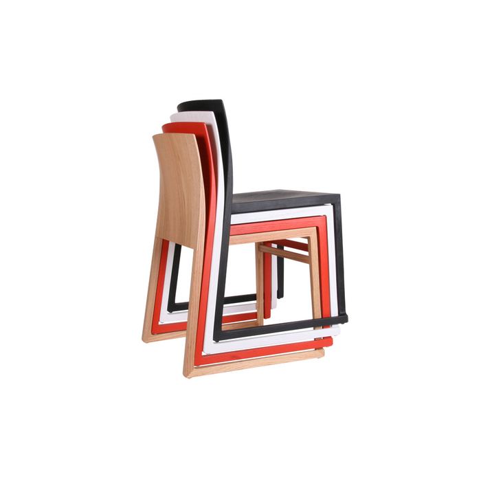 Hanna Sled Chair: Painted F...