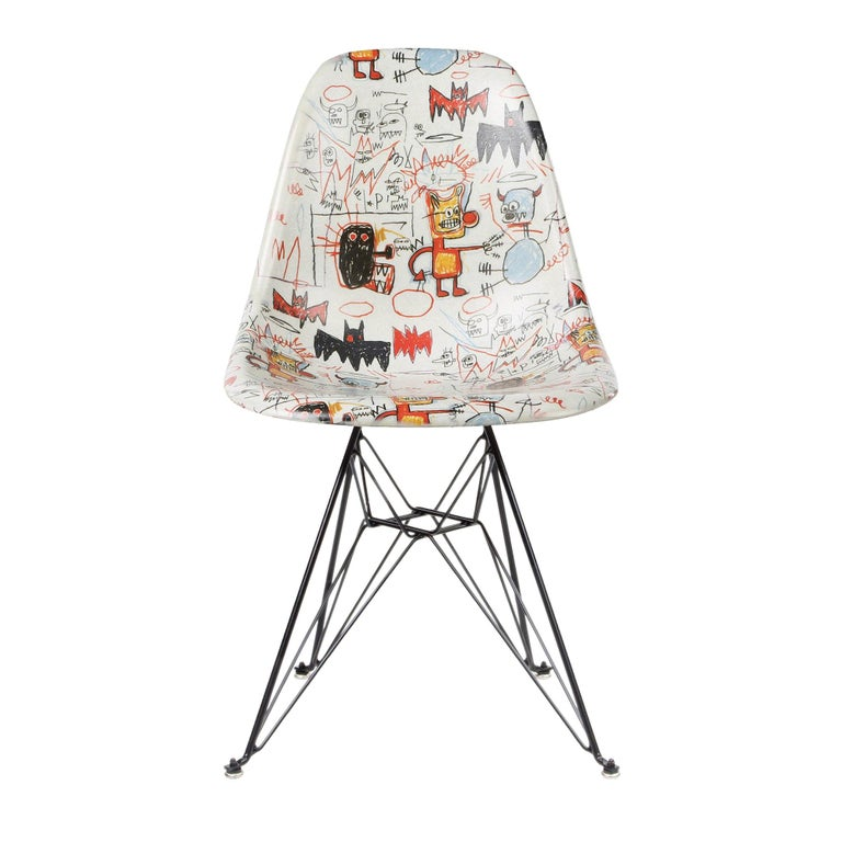 Side Shell Eiffel Chair (Ba...