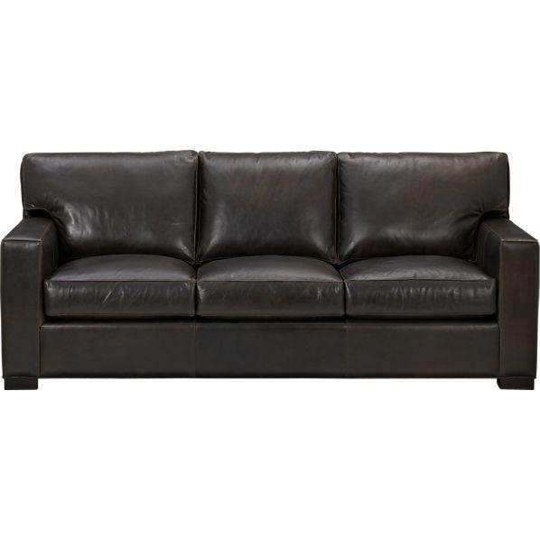 Axis Ii Leather 3 Seat Queen Sleeper Sofa