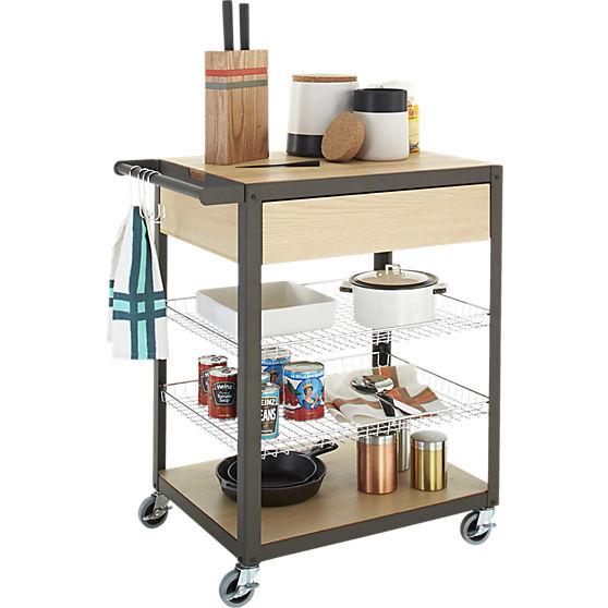 Mise En Place Kitchen Cart | CB2