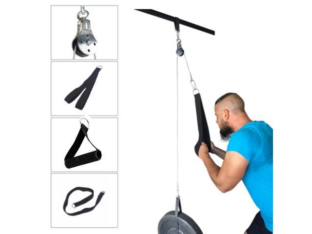 Fitness Pulley Cable Machine System Attachment DIY Weigh Loading Pin Model 2