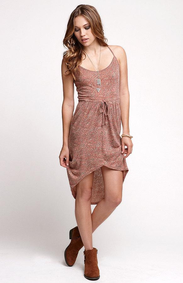 Autumn Spice Tulip Dress