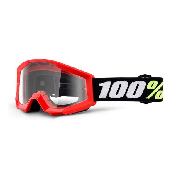 100 percent 50600-003-02 red clear lens