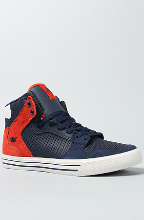 Supra Shoes Vaider in Navy,...