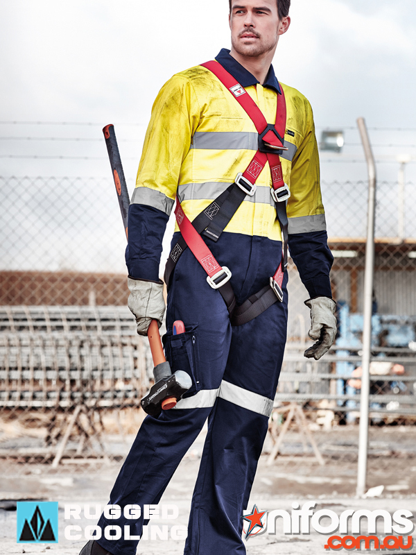 Rugged Cooling Taped Overalls