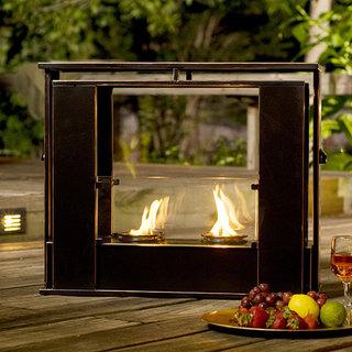 Wesley Indoor/ Outdoor Portable Fireplace | Shoplinkz, Home | Shoplinkz