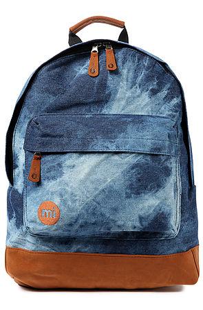 The Denim Dye Backpack in Blue