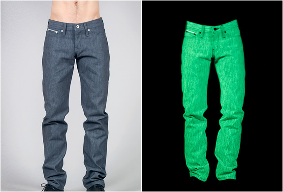 GLOW IN THE DARK JEANS by N...