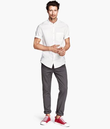 Twill Pants Slim Fit | H&M
