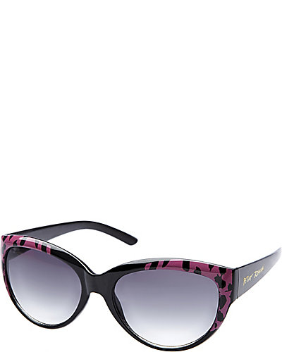 CATEYE WITH LEOPARD FRONT PINK