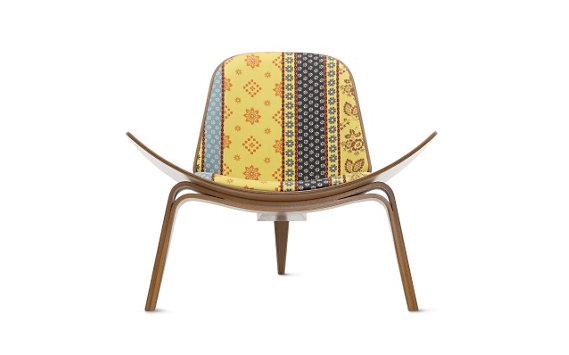 Shell Chair, Maharam Fabric
