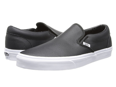 de8551bff8 Vans Classic Slip-On™ (Perf Leather) Black