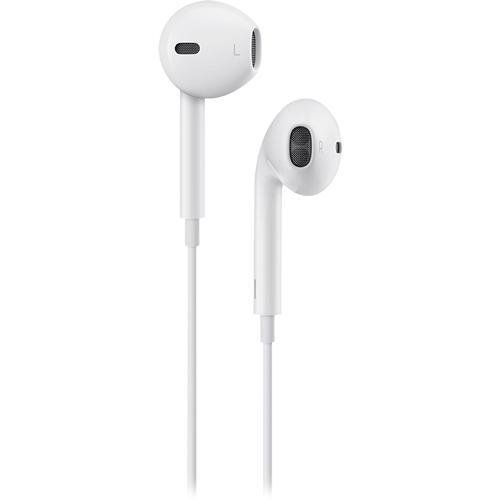 Apple® - EarPods™ with Remote and Mic - White - Larger Front