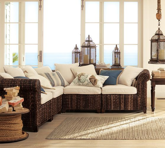 Seagrass 5-Piece Sectional ...