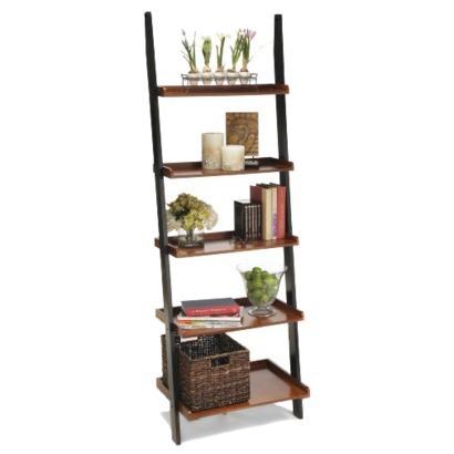 2 Tone Bookshelf Ladder - C...