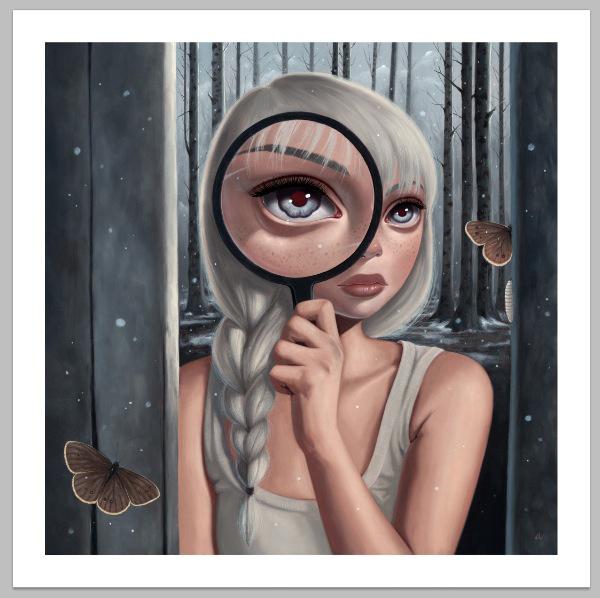 """Iris"" Print by Ana Bagayan..."