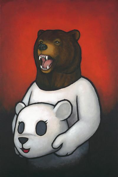 Bear In Mind Print by Luke ...