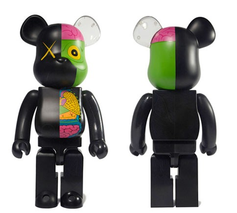 KAWS 400% Dissected Bearbrick