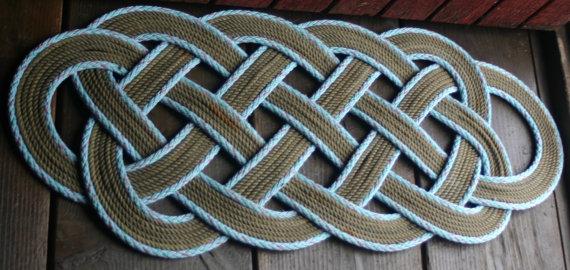 39 X 15 Rope Rug Doormat Na...