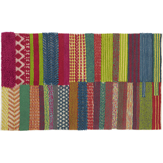 motley rug 5'x8' in rugs | CB2