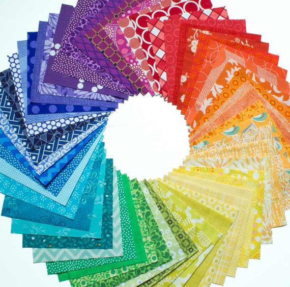54 Color Wheel - Charm Squa...