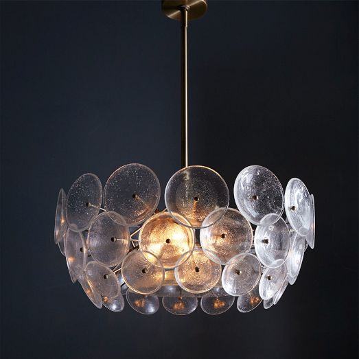 Glass Disc Chandelier | Wes...