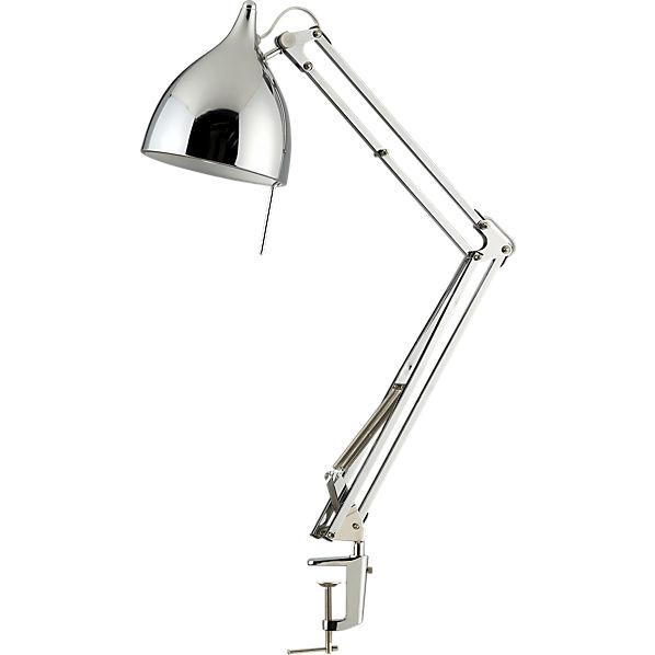 carpenter chrome lamp
