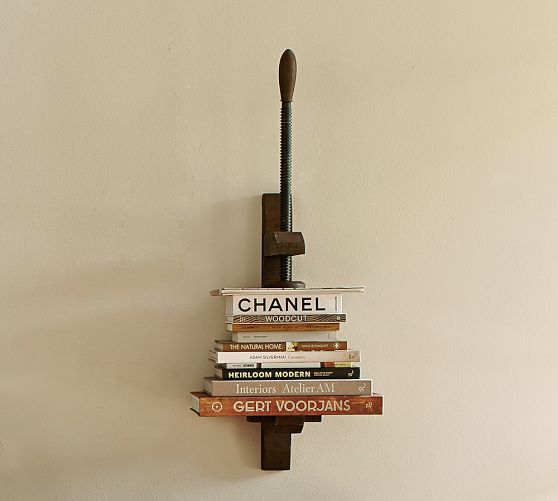 Book Press Shelf | Pottery ...