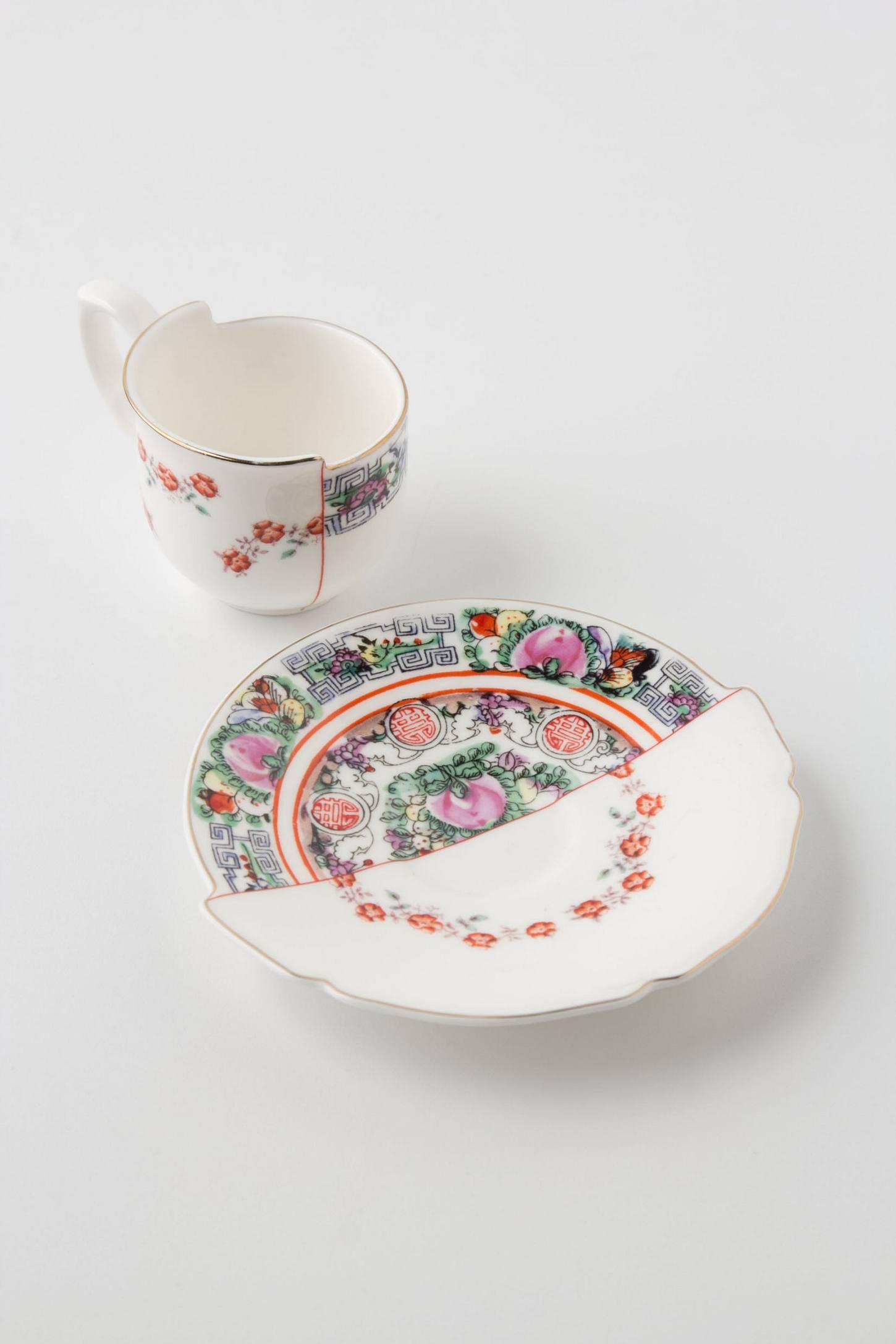 Unlikely Symmetry Roses Tea...