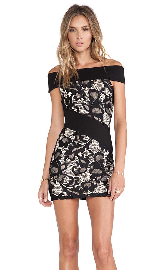 NBD Temptress Mini Dress in...