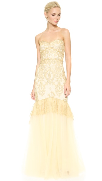 Notte by Marchesa Strapless...
