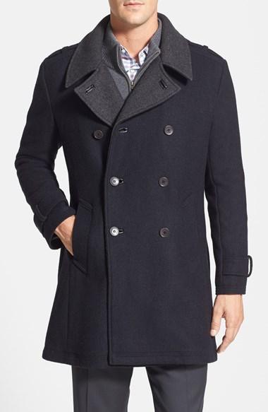 Cole Haan Wool Blend Coat |...