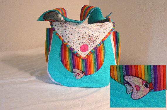 Rainbow Diaper Bag, Nappy, ...