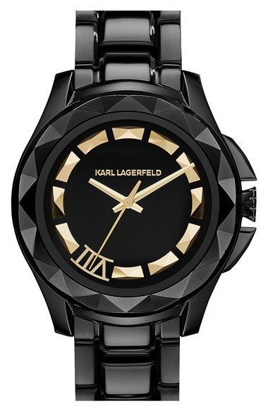 KARL LAGERFELD '7' Faceted ...