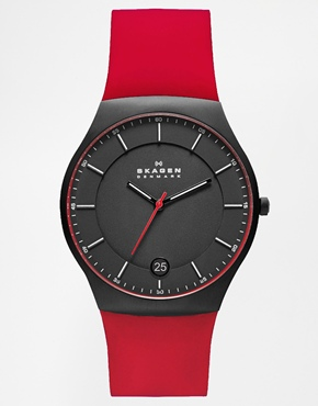 Image 1 ofSkagen Red Silic...