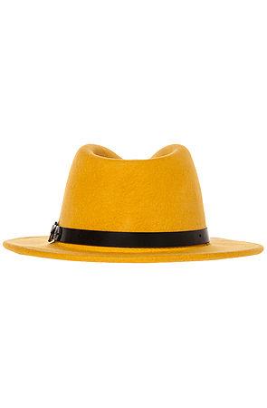The Deidre Hat in Mustard