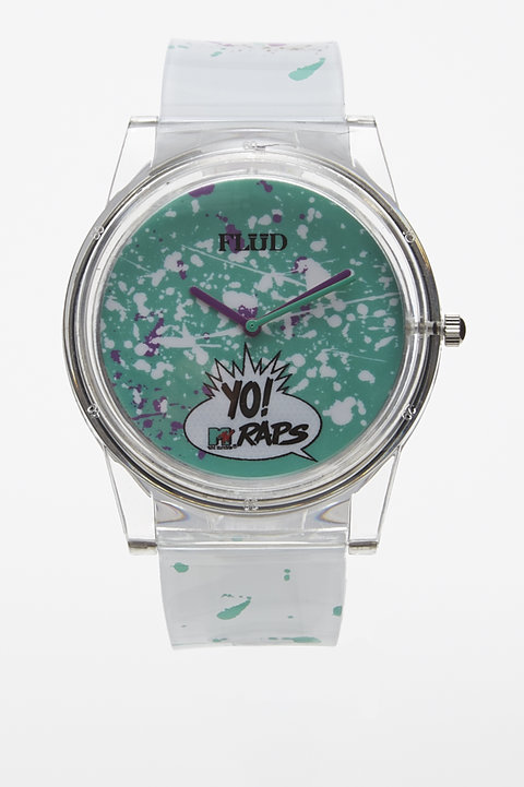 Yo MTV Pantone Watch - Flud...