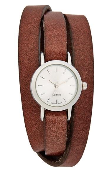 BP. Leather Wrap Watch (Jun...