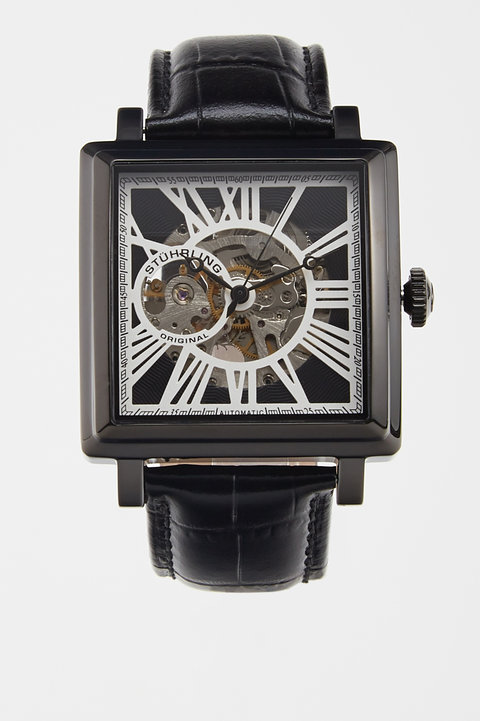 Chariot Square Watch with I...