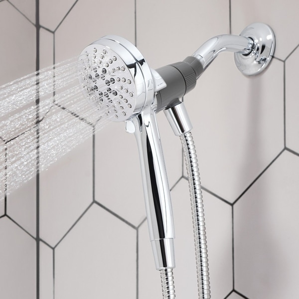 Engage 6-function 3.5-inch Diameter Spray Head Handshower, Chrome (26100). Opens flyout.