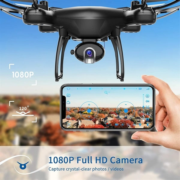 1080P Drone with Camera 108...