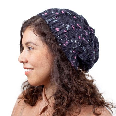 Flecked Knit Beanie