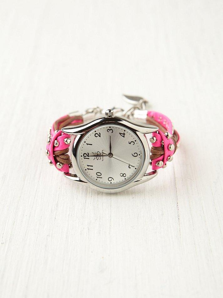Sara Designs Studded Watch ...