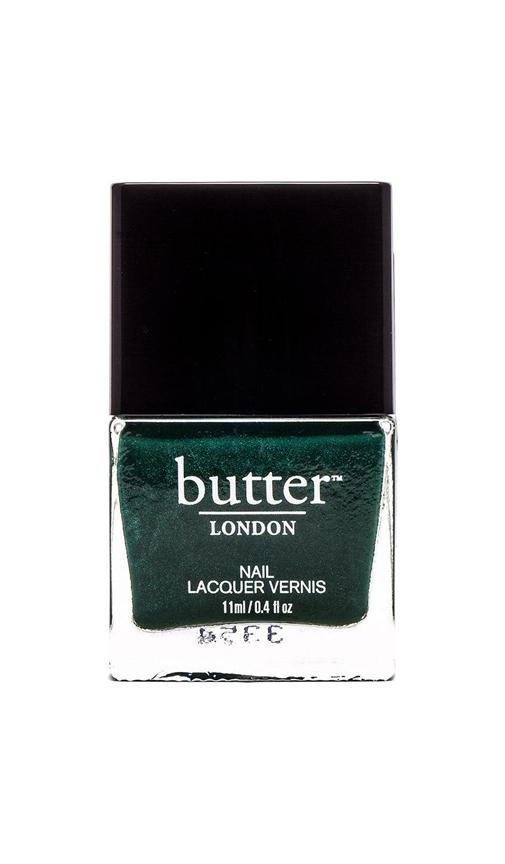 butter LONDON Nail Lacquer in British Racing Green | REVOLVE
