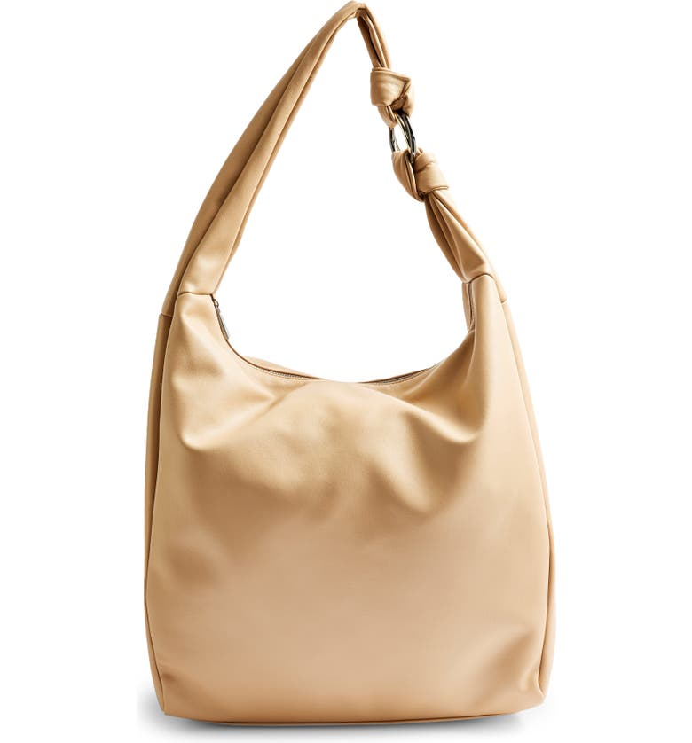 Oversize Knot Hobo Bag, Ma...